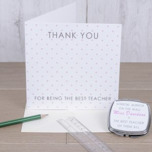 Teachers Card and Compact In One