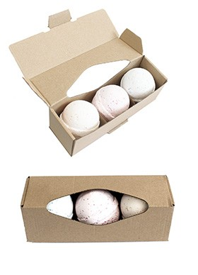 Aromatherapy Bath Bombs Set - Choice of 3 Intoxicating Bath Bombs