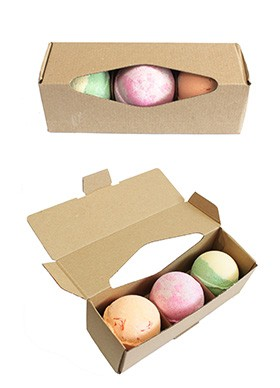 Shea Butter Bath Bomb Set - Choice of 3 Luxurious Intoxicating Bath Bombs