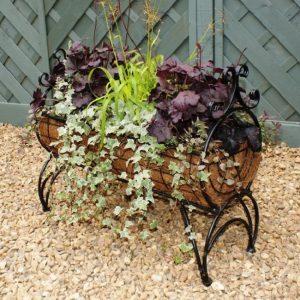 Standing Planter - Ornate Poppy Forge Regal 600 Garden Planter