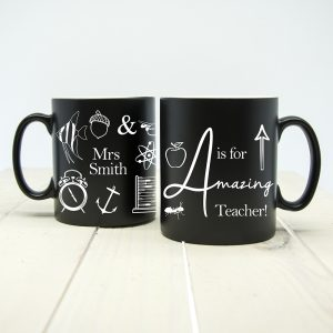 End of Year Teacher Gift Ideas - Superb Personalised Teacher Mugs