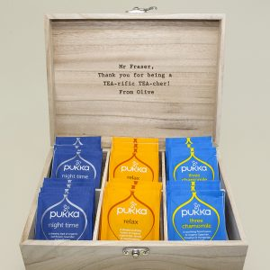 Personalised Tea Collection for Teachers