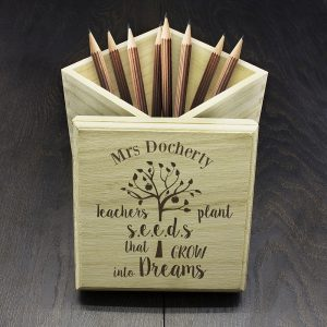 Personalised Pine Box for Teachers