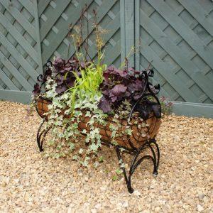 Standing Planter - Ornate Poppy Forge Regal 600 Planter