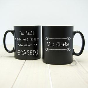 Ideas for Teacher Gifts - Personalised Best Teacher Mugs