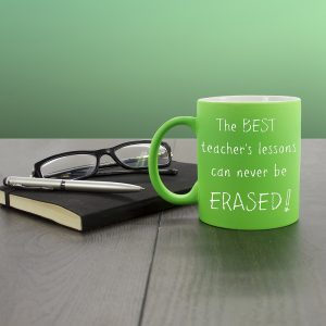Best Teacher Personalised Mug - Green