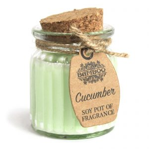 Cucumber Soy Fragrance Pot - Natural Candles