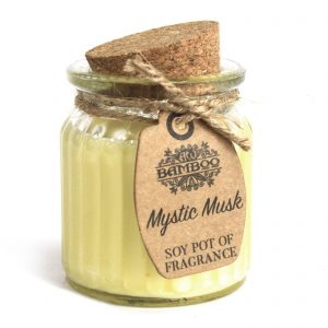 Mystic Musk Soy Pot of Fragrance - Musk Scented Candles