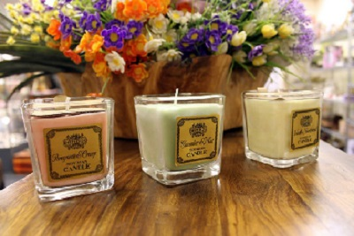 Set of Three Soybean Candles