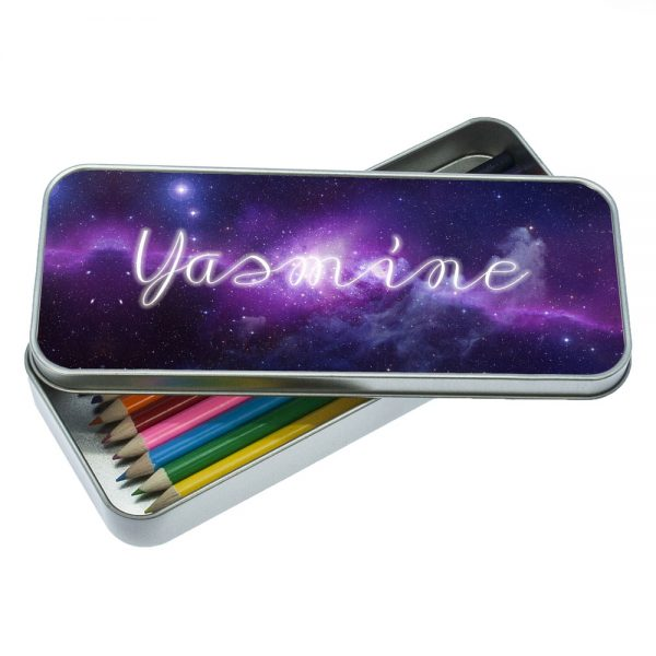 Personalized Pencil Case – Out of this World Cosmic Design