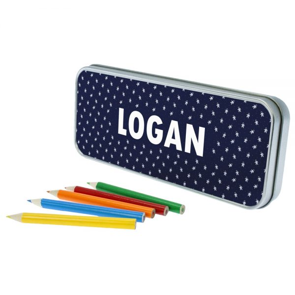 Space Theme Personalised Pencil Cases for Boys