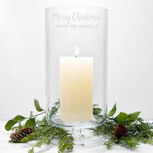 Christmas Glassware - Personalised LSA International Lantern