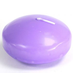 Large Lilac Floating Candles