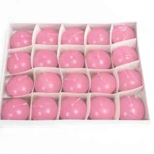 Set of 20 Pink Floating Candles
