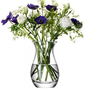 Engraved Vases - LSA International Posy Vase with Personal Monogram