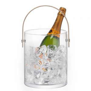 Customised Ice Bucket - Personalised LSA International Ice Bucket