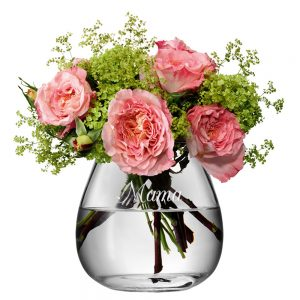 Personalised Vase - LSA International Bouquet Vase with Personal Message
