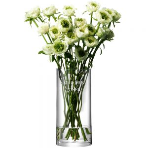 Personalised Glass Vases - LSA International Column Vase