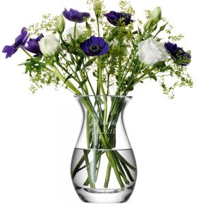 Personalised Vases - LSA International Posy Vase with Personal Message