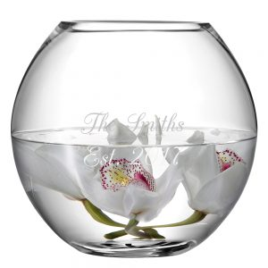 LSA International Round Vase - Exceptional Hand-Crafted Personalised Gifts