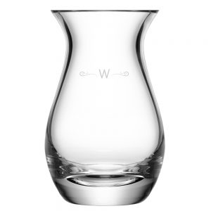 LSA Monogrammed Vase - Curl Monogram