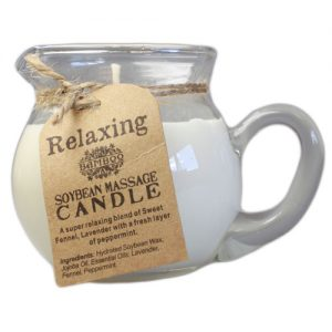 Relaxing Massage Candle - Essential Oils & Plant Waxes