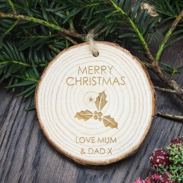 Christmas Tree Decoration – Personalised