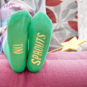 Christmas Childrens Socks - Personalised Festive Socks for Kids