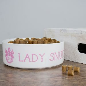 Personalised Cat Bowl - Ceramic Bowl for Aristocratic Cats