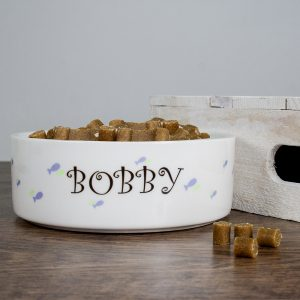 Personalised Pet Gifts - Funky Personalised Fishy Cat Bowl