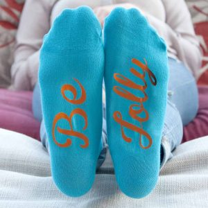 Christmas Day Socks - Personalised Festive Socks for Adults