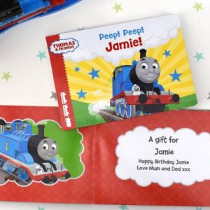 Thomas The Tank Books - Personalised Chunky Board Book