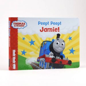 Thomas The Tank Books - Personalised Chunky Board Toddler Book