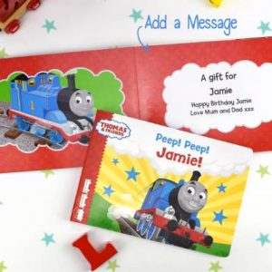 Personalised Chunky Thomas The Tank Books