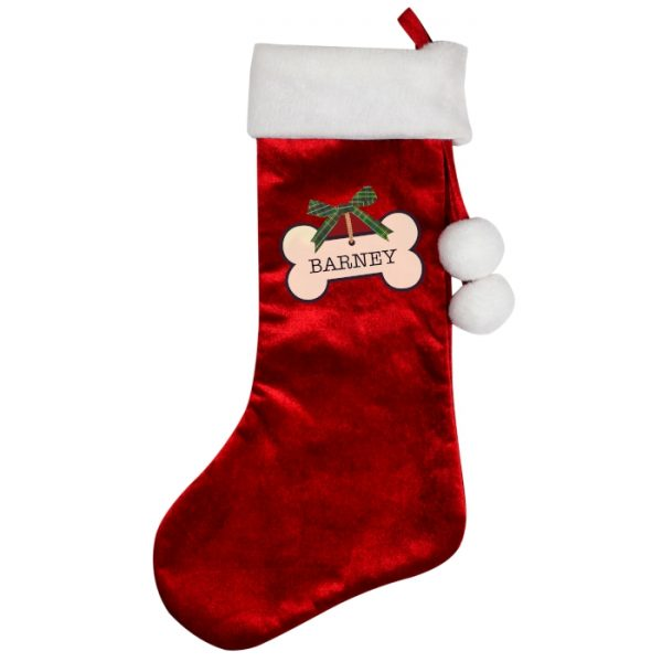 Personalised Christmas Stocking for Dogs