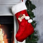 Christmas Gifts for Dogs – Personalised Luxury Christmas Stocking