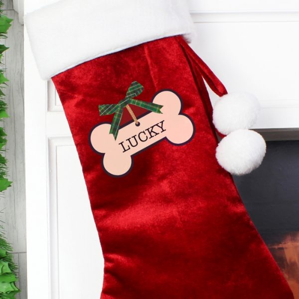 Luxury Christmas Stocking for Dogs