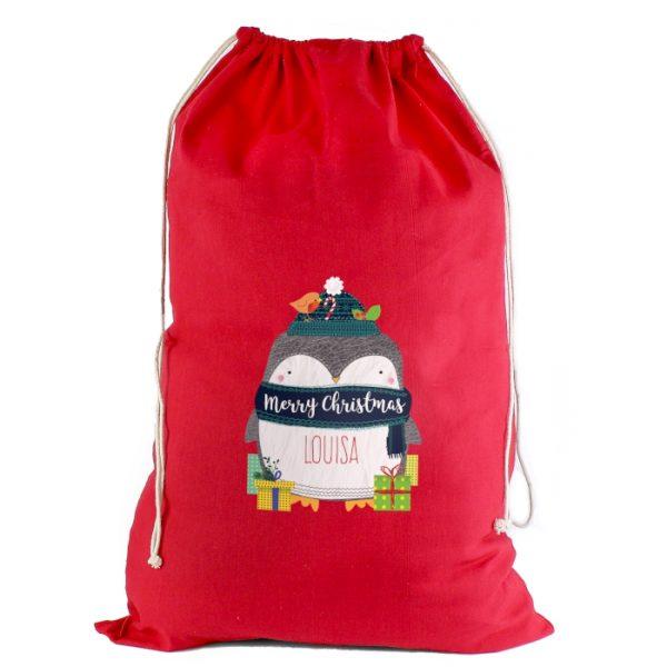 Personalised Kids Christmas Sacks