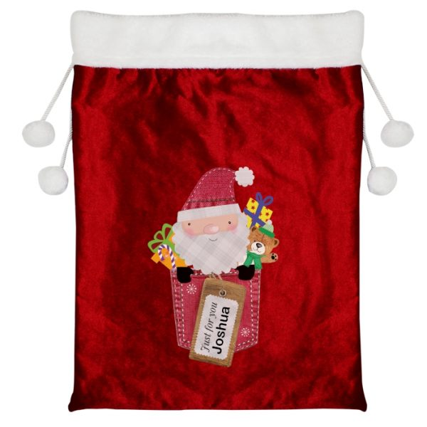 Personalised Christmas Sack – Just For You