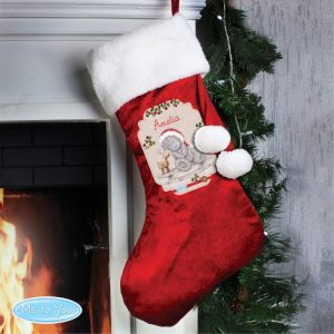 Childrens Christmas Stockings - Personalised Me To You Luxury Stocking