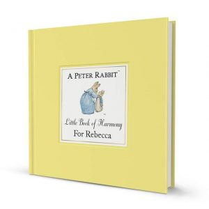 Personalised Peter Rabbit Books - Little Book of Harmony
