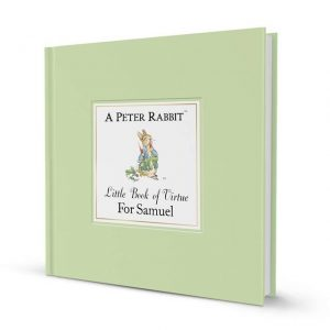 Peter Rabbit Book - Personalised Little Book Of Virtue