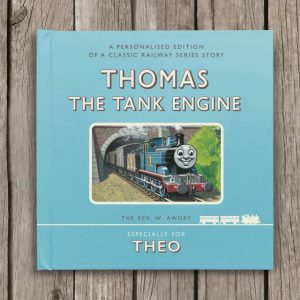 Thomas The Tank Engine Book - Personalised