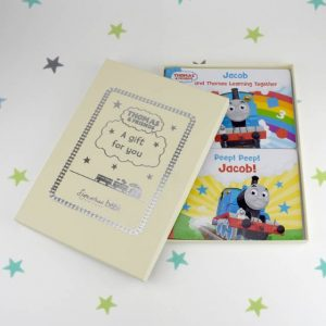 Dual Box Set of Thomas & Friends Board Books - Personalised