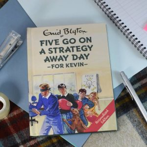 Famous Five For Grown Ups - Personalised Five Go On A Strategy Away Day