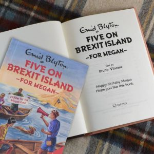 Famous Five on Brexit Island - Personalised Enid Blyton