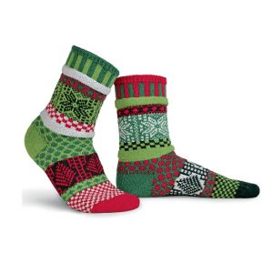 Mistletoe Solmate Socks for Adults