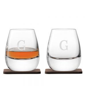 LSA Whisky Tumblers - Commanding Islay Glasses Personalised