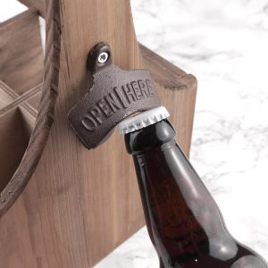 Mens Gift Ideas - Personalised Wooden Beer Trug