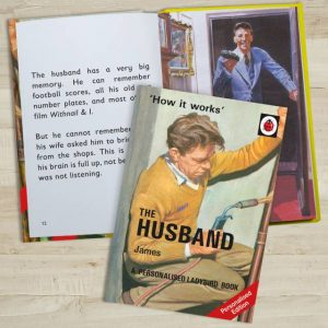 Ladybird Books for Adults - Personalised How The Husband Works